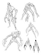 XCOM2 Faceless ConceptSketches