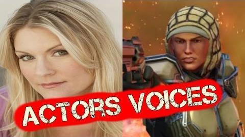 XCom 2 Actors Voices - XCom2 Characters Cast