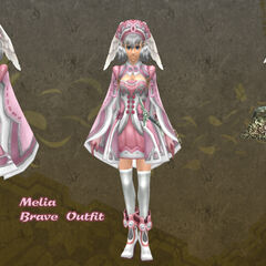 Melia in Brave outfit