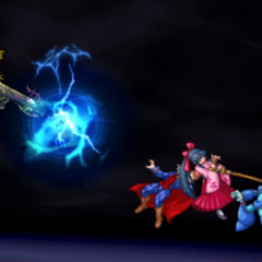 Metal Face Multi Attack in <i>Project X Zone 2</i>
