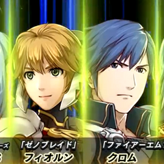 KOS-MOS, Fiora, Chrom and Lucina introduction in <i>Project X Zone 2</i>