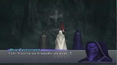 Xenosaga III HD Cutscene 002 - Testament (Ancient Temple Tomb) - ENGLISH