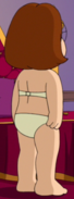 Meg's Back with a Topless Bra and Panties