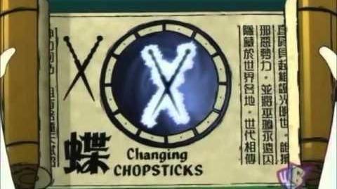 Shen Gong Wu - Changing Chopsticks