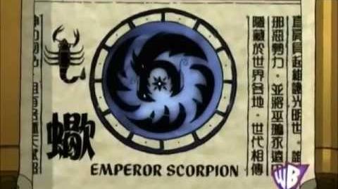 Shen Gong Wu - Emperor Scorpion