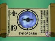 Eye of Dashi Scroll
