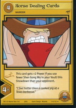 TCG - Horse Dealing Cards