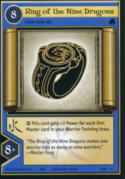 TCG - Ring of the Nine Dragons
