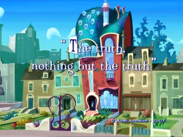 File:Xilam - A Kind of Magic - The Truth, Nothing But the Truth - Episode Title Card.jpg