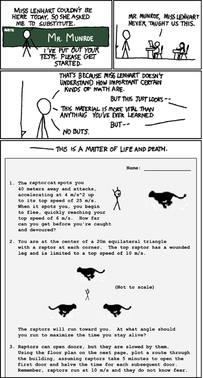Substitute (xkcd 135)
