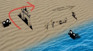 Beach map by 123Adz321