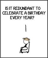 Redundant birthday