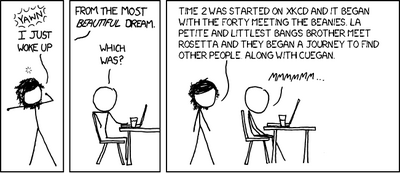 Beautiful Dream (xkcd 800)