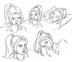 DrawnKitty- faces