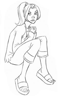 DrawKitty- sitting II