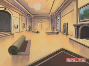 Xavier's School for Gifted Youngsters living room
