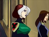 Shadow Dance Rouge and Shadowcat together