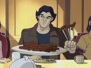 Speed & Spyke- Logan eats