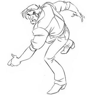 DrawingLogan- angry Civis II