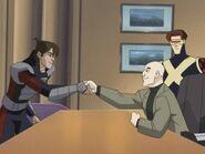 Joyride- Lance n Xavier shake hands
