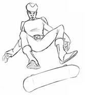 DrawEvan- skate I