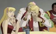 Mutan Crush Fottball and cheerleaders 1