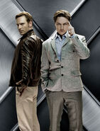 Prof x and magneto poster XMFC