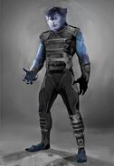 X-Men Days of Future Past 003 Beast newface