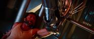 Logan - Pinned by Silver Samurai