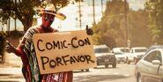 Deadpool Comic Con promo