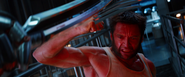 Logan blocking Silver Samurai Sword