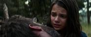 Laura mourns Logan's death