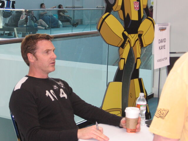 File:David Kaye at an autograph session at Botcon 2008 in Cincinnati, Ohio.jpg