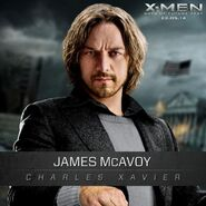 James McAvoy Professor X Days of Future Past