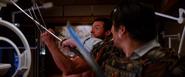 Logan blocking Shingen - Adamantium Claws vs Samurai Sword