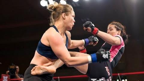 Ronda Rousey vs Taylor Stratford