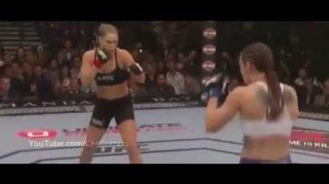 UFC175 Ronda Rousey vs Alexis Davis