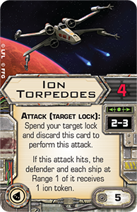 Ion-torpedoes