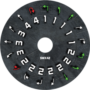 Swx42 dial