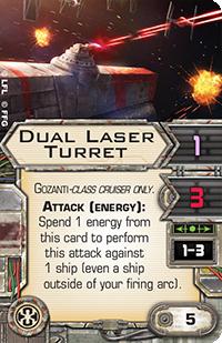 Dual-laser-turret
