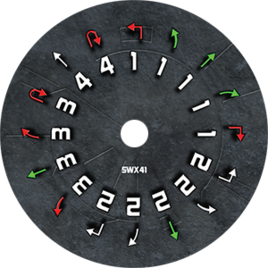 Swx41 dial