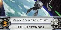 Onyx Squadron Pilot