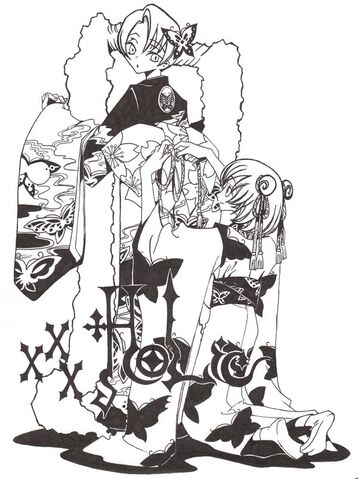 File:XxxHolic Maru and Moro by Meilin Son.jpg