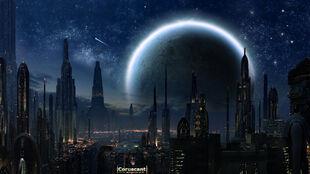 Coruscant by bennman