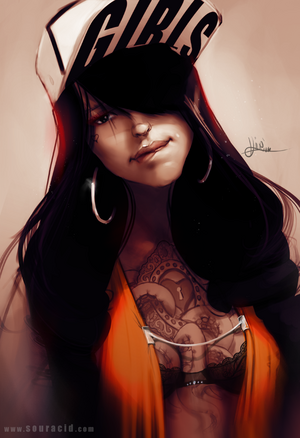 Gangster girl by souracid-d7aazjs