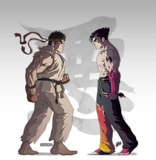 Ryu x jin by seeso2d-d3n56qv