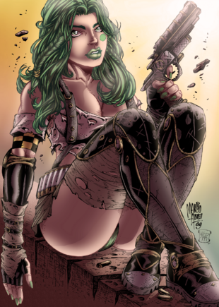Aphrodite ix colored by ironcid-d4apgws