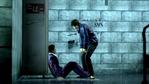 Tanimura checks the dying Ueno's member