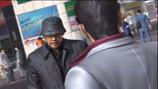 Homeless Hamazaki meets Kiryu
