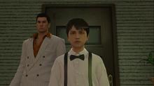 Kiryu takes young Daigo to the bar following Daigo's request